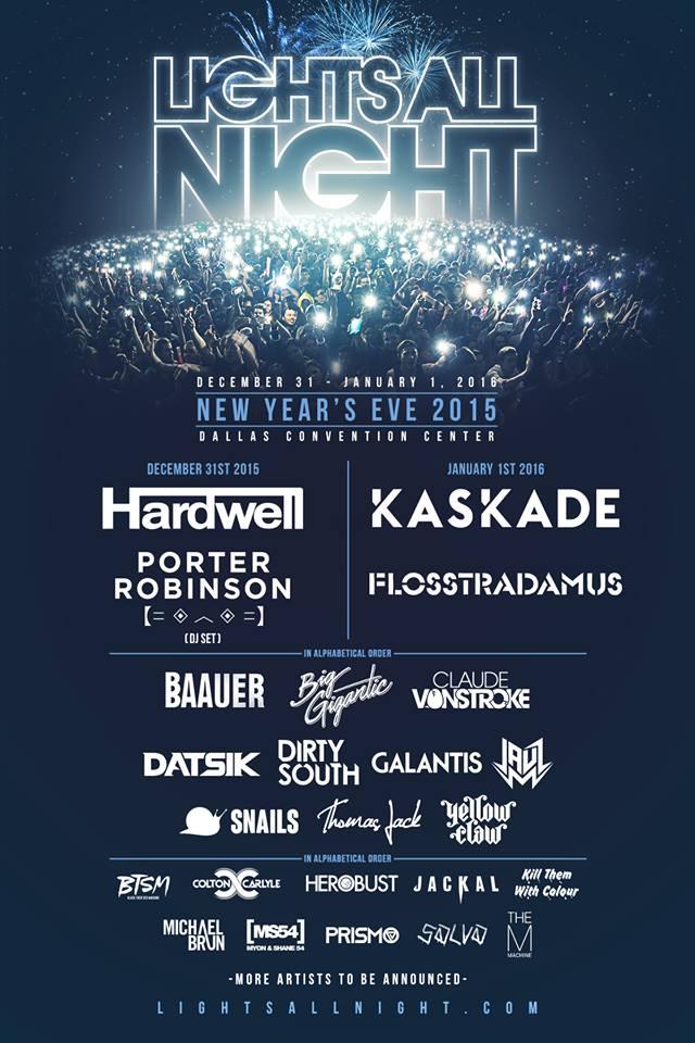 lights all night 2015 lineup