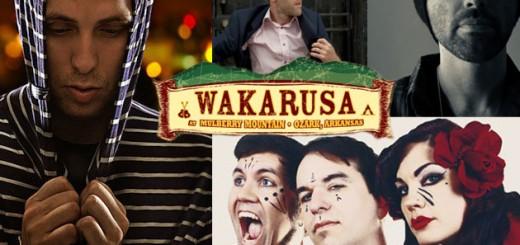 Wakarusa 2012 Round 1 Artist Collage