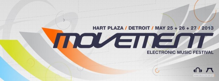 Movement Electronic Music Festival 2013