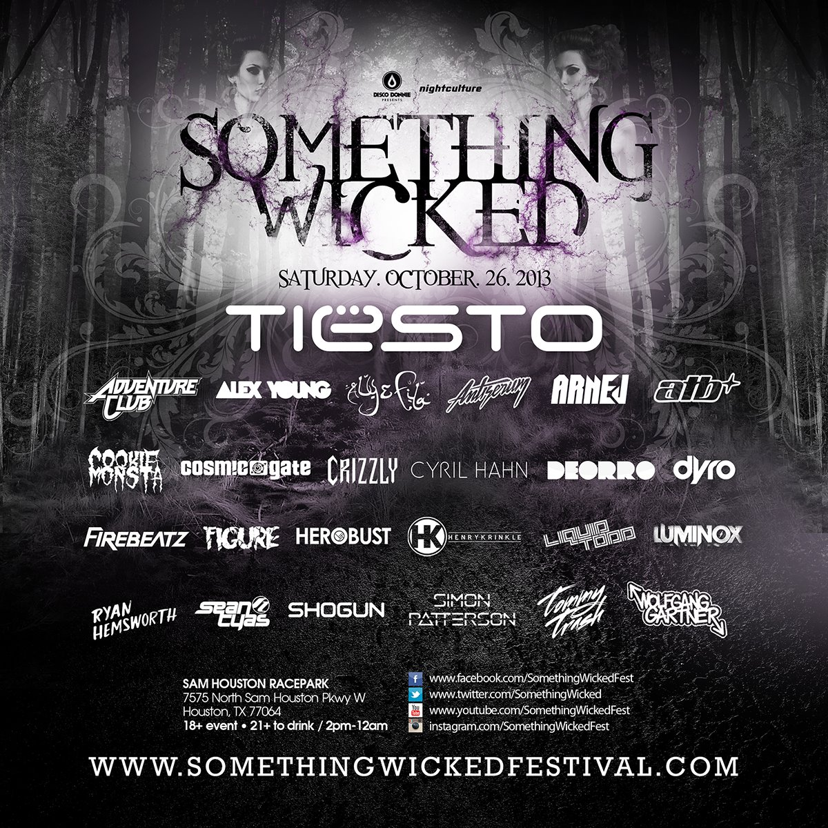 Festival Something Wicked Houston Tex Tickets And