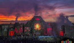 TomorrowWorld 2014 sunset