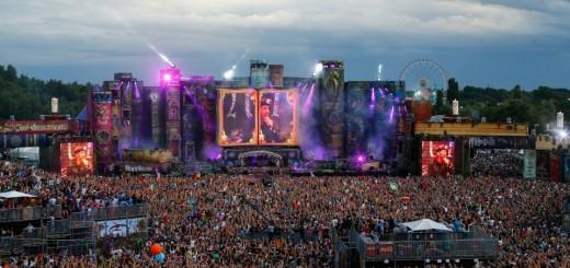 Tomorrowland 2012 main stage