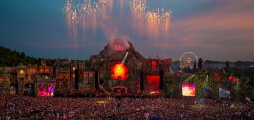 EDM stage design - Tomorrowland 2013 daytime