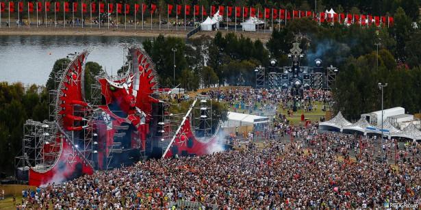 EDM stage design - defqon.1 2012 australia