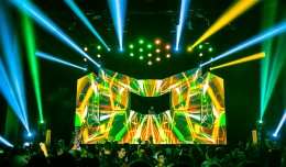 EDM stage design - excision executioner club nokia 2013