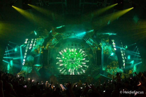 EDM stage design - qlimax fate or fortune 1