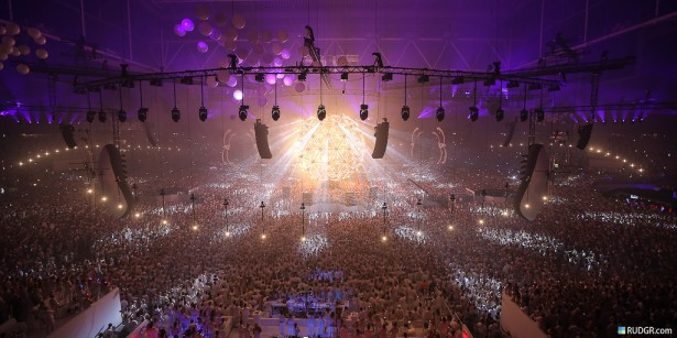 EDM stage design - sensation source of light amsterdam 2012