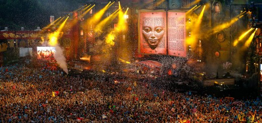 EDM stage design - tomorrowland 2012