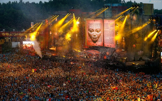 EDM stage design - tomorrowland 2012