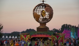 tomorrowworld-globe-sunset