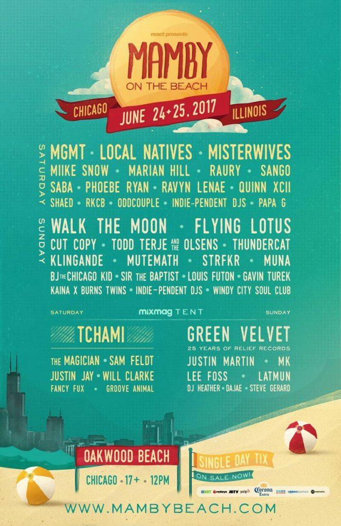 mamby lineup 2017