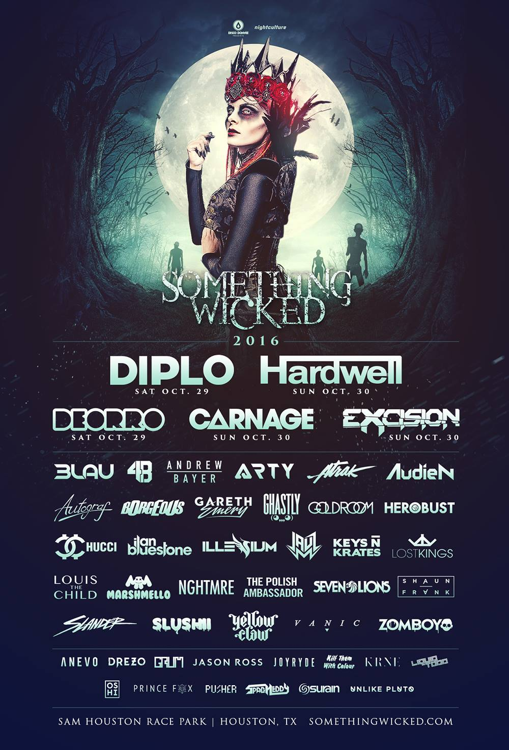 something wicked 2016 lineup