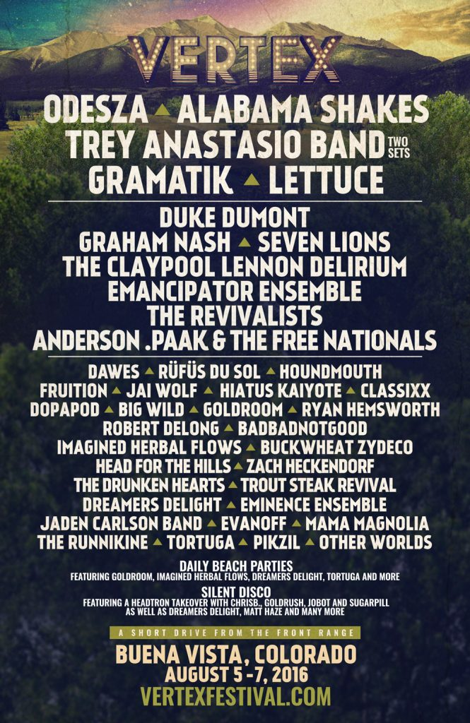 vertex festival 2016 lineup