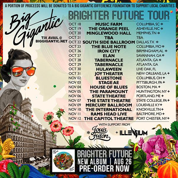 Brighter future tour