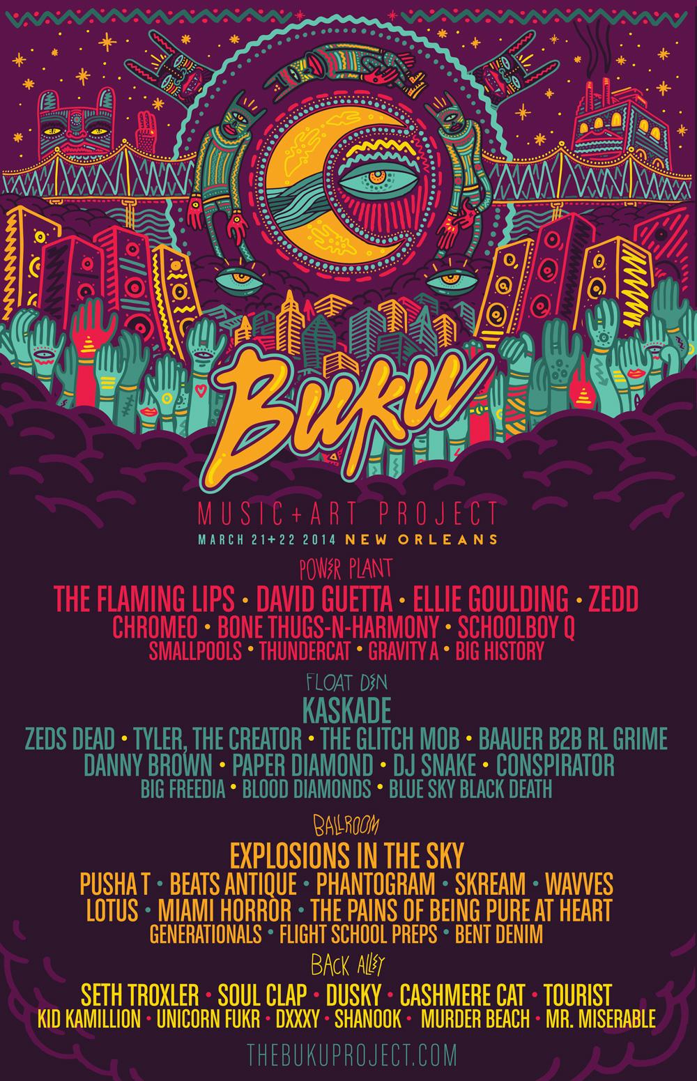BUKU-2014-lineup