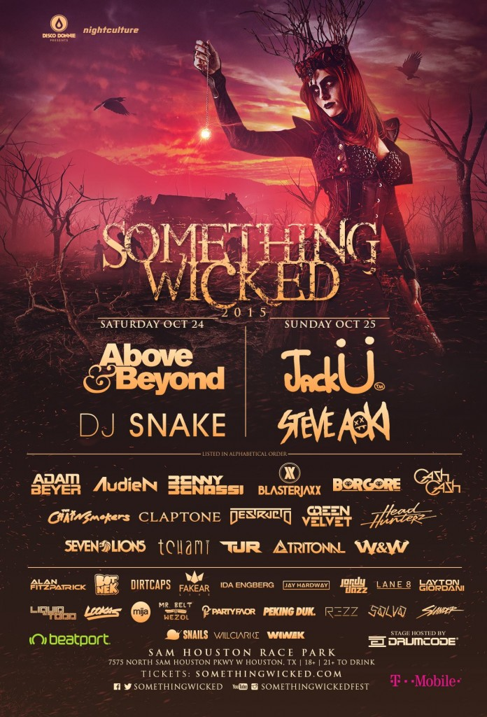 Something Wicked Announces Full 2015 Lineup For Houston