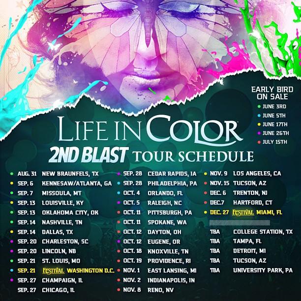 Life in Color Rebirth Fall 2013