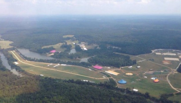 TomorrowWorld 2013 setup aerial