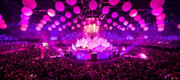 EDM stage design - sensation innerspace new york 2012