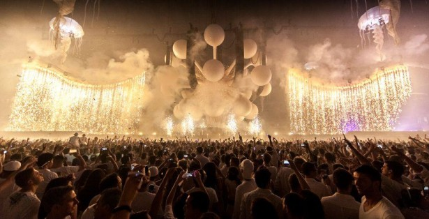 EDM stage design - sensation ocean of white