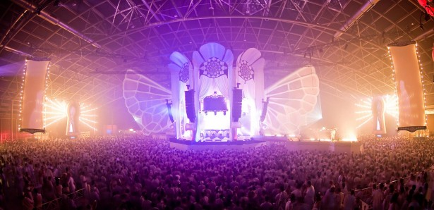 EDM stage design - sensation unkown