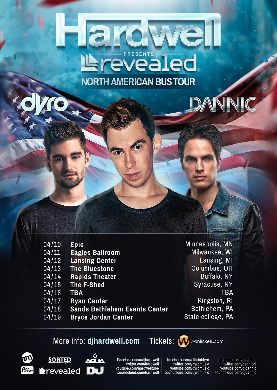 Hardwell Revealed NA Bus Tour 2014