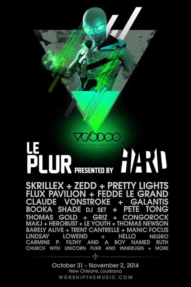 Le Plur at Voodoo