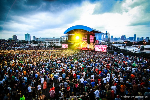 Phish at the FirstMerit Bank Pavilion by Will Byington Photography