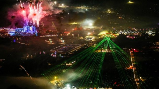 tomorrowworld 2013 aerial night