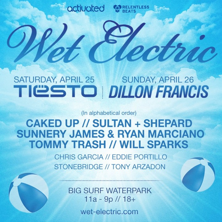 Festival Wet Electric Tempe Ariz