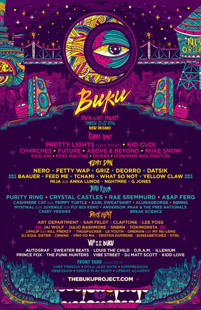 BUKU 2016 final lineup