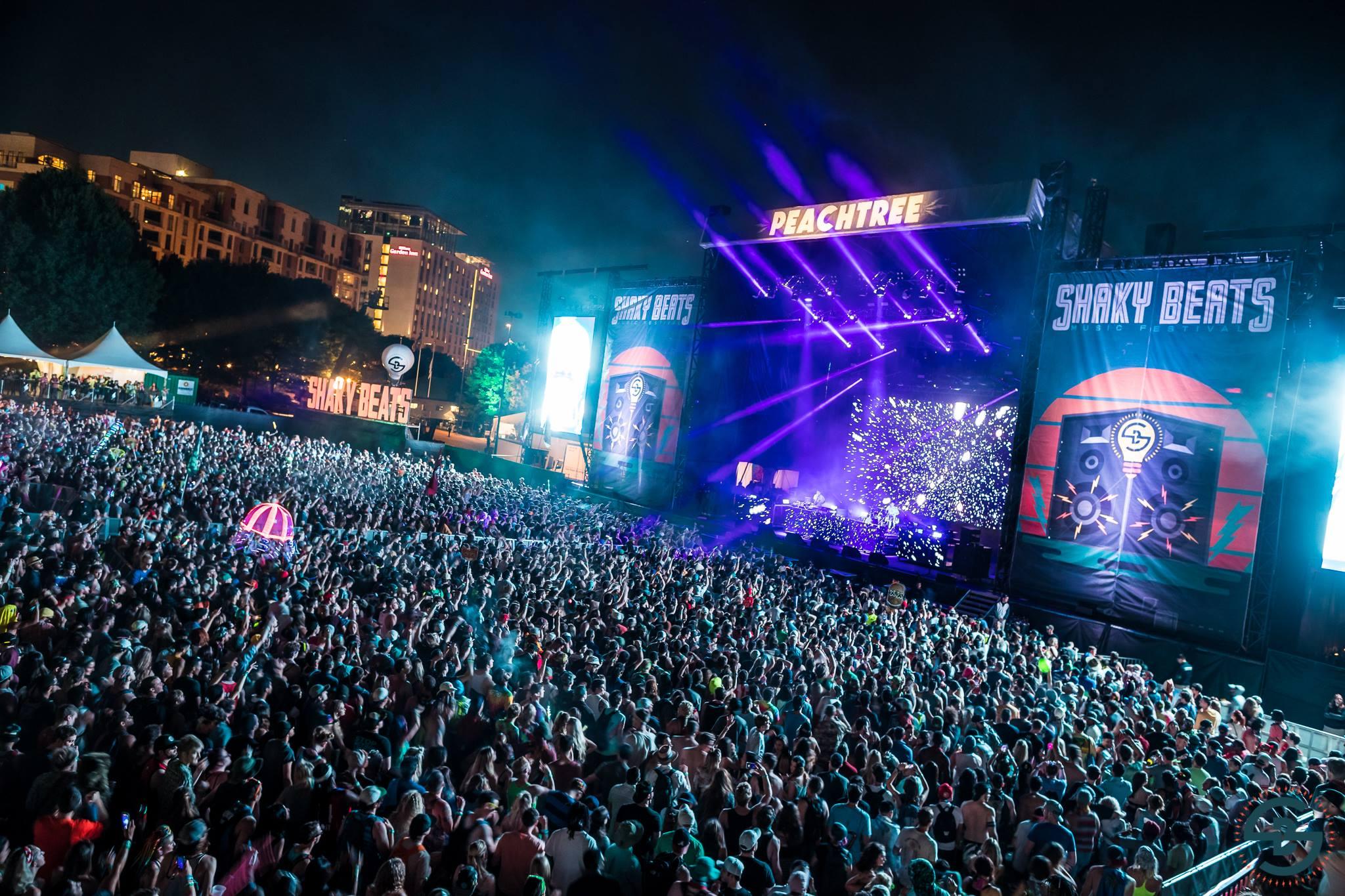 Festival Shaky Beats Music Festival Atlanta Ga