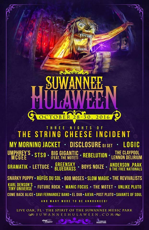 hulaween florida 2016 lineup