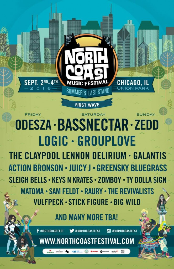 north coast 2016 lineup phase 1