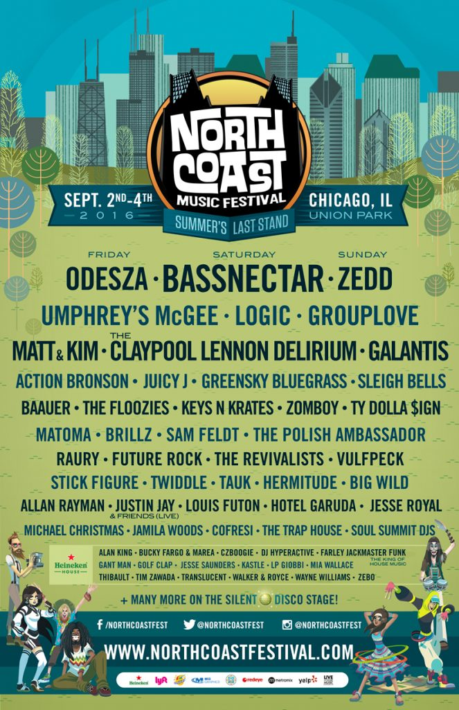North Coast 2016 final lineup