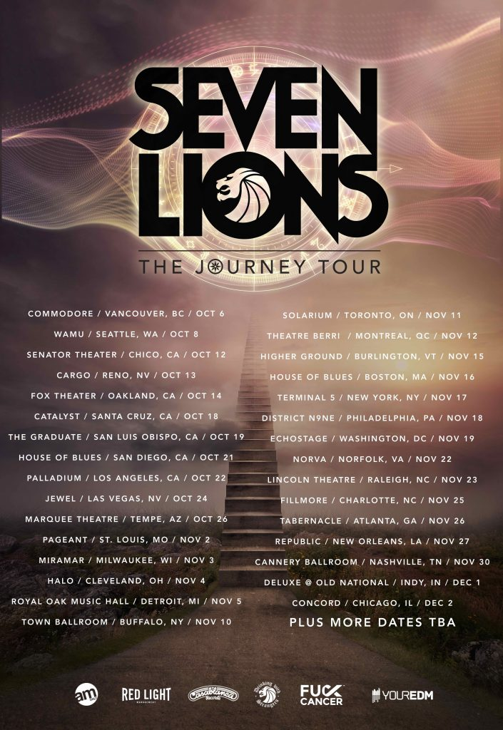 seven lions the journey