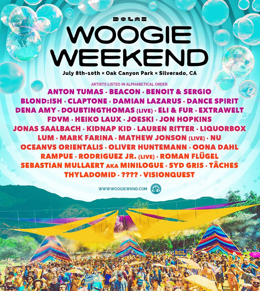woogie weekend 2016 lineup