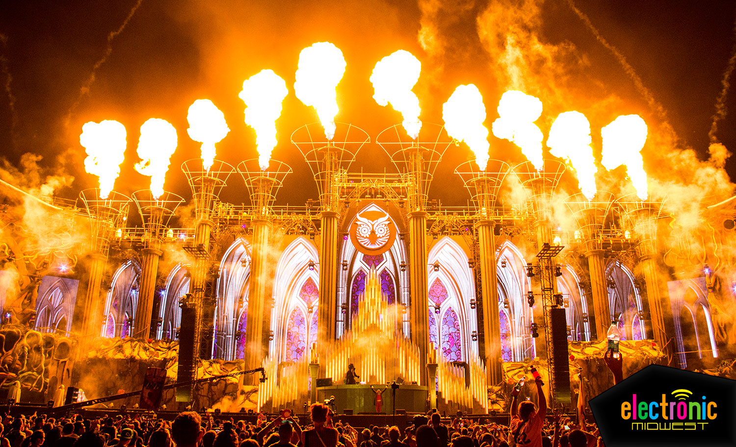 Artist Lineup Revealed For Edc Las Vegas 2017 Electronic Midwest
