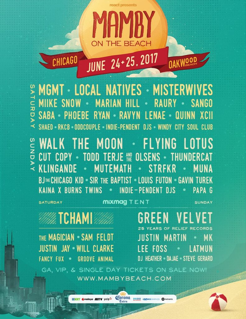 mamby 2017 lineup