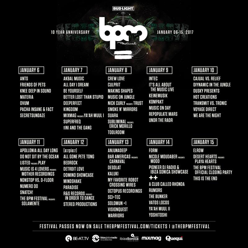 bpm-festival-2017-full-showcase-schedule